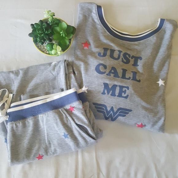 4ae3077185db Junk Food Clothing Intimates & Sleepwear   Wonder Woman Pajamas By ...